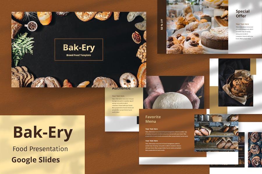 Bakery - Presentation  Template Google Slide