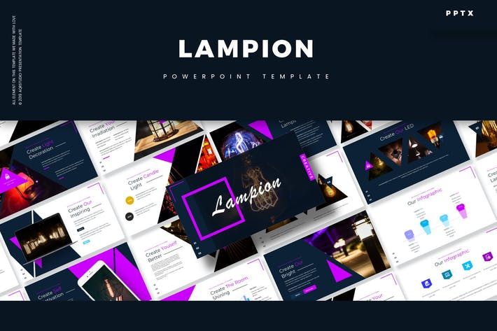 Thumbnail for Lampion - Powerpoint Template