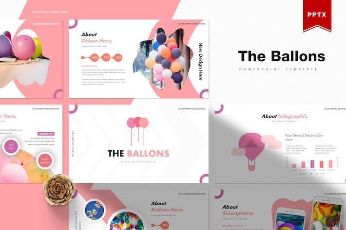 Thumbnail for Баллоны | Powerpoint Шаблон