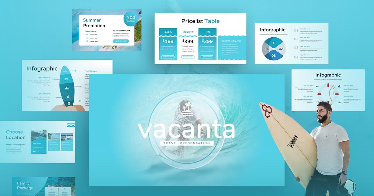 Download Vacanta  - Vacation Keynote Presentation by TMint