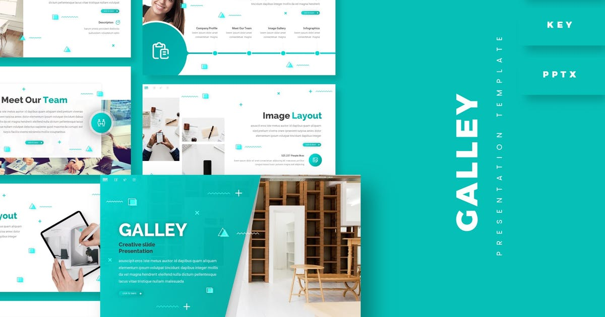 Download Galley - Presentation Template by aqrstudio