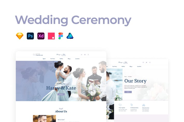 Thumbnail for Wedding Ceremony Template