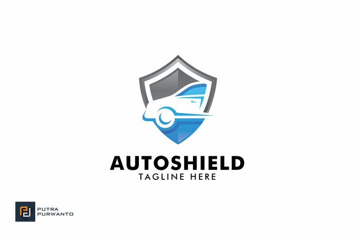 Thumbnail for Auto Shield - Logo Template