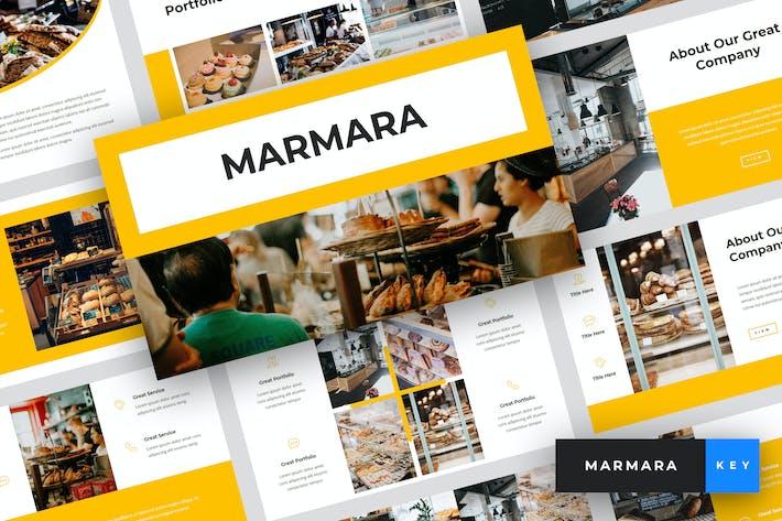 Thumbnail for Marmara - Шаблон Keynote для хлебобулочных изделий