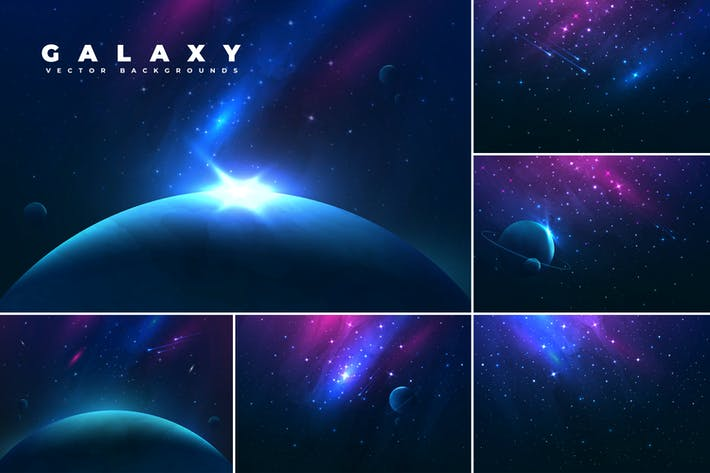 Thumbnail for Abstract Space Backgrounds