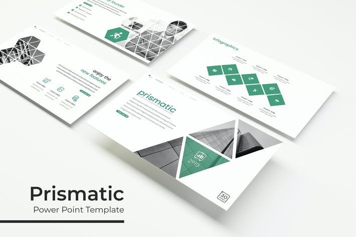 Thumbnail for Prismatic - Powerpoint Template