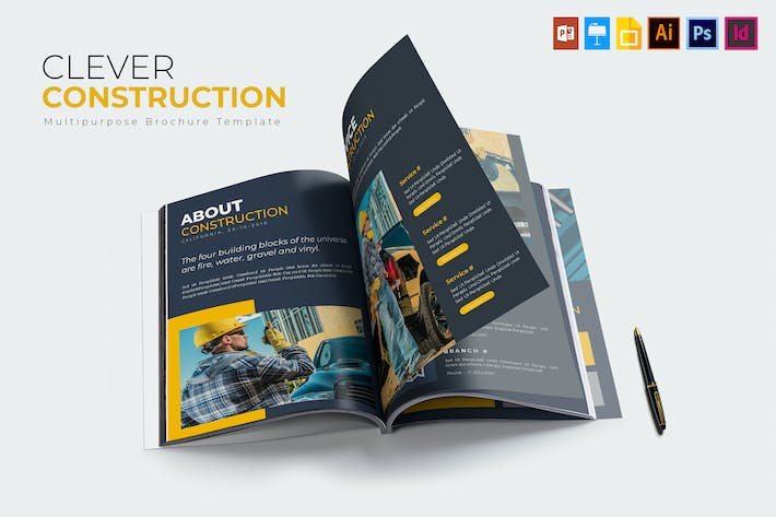 Thumbnail for Construction intelligente | Brochure