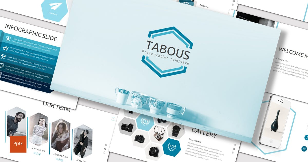 Download Tabous - Powerpoint Template by inspirasign