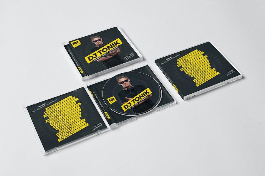 DJ Mix / Album CD / Digital Cover Artwork