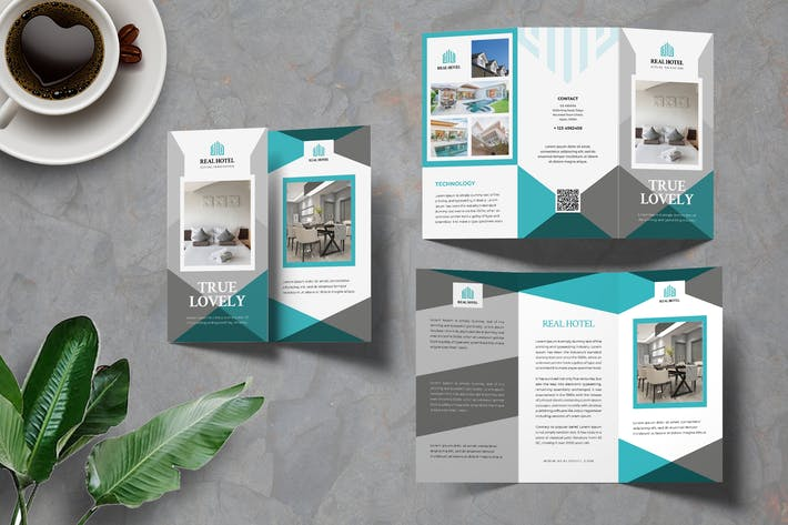 Thumbnail for Hotel Trifold Brochure