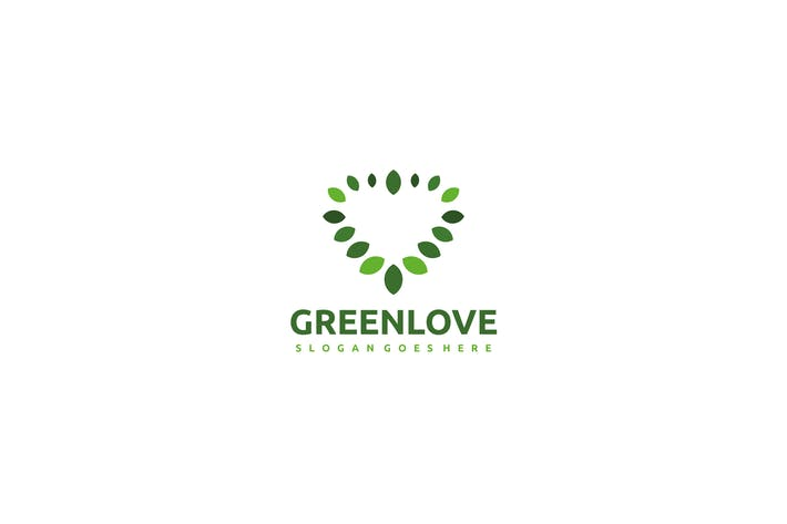 Cover Image For Love Green Logo