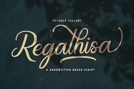 Regalhisa - Calligraphy Font
