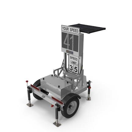 Mobile Speed Radar Trailer