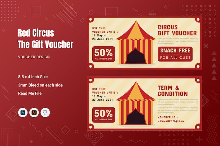 Red Circus Gift Voucher