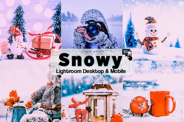 Snowy Time Lightroom Presets