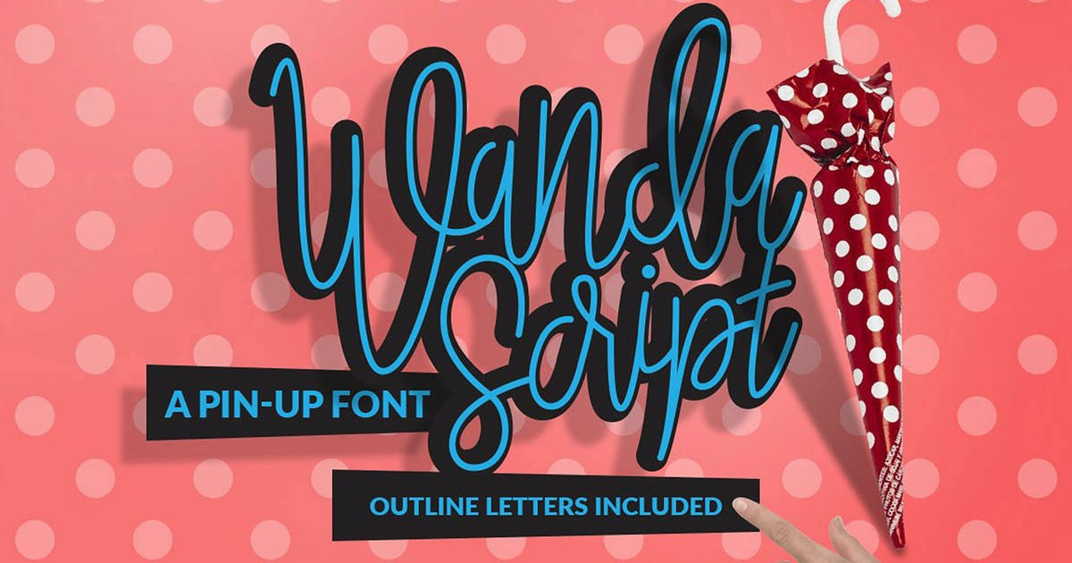 Download Wanda Script by DesignSomething