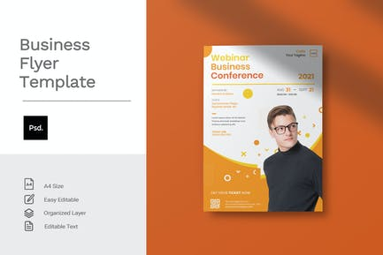 Business - Flyer Template Vol.51