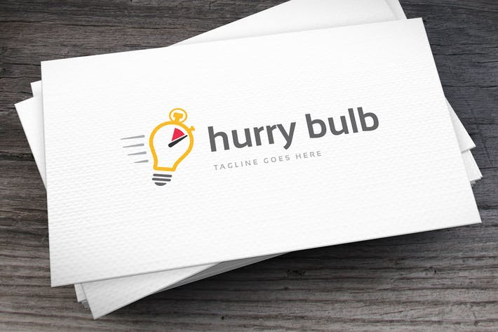 Thumbnail for Hurry Bulb Logo Template