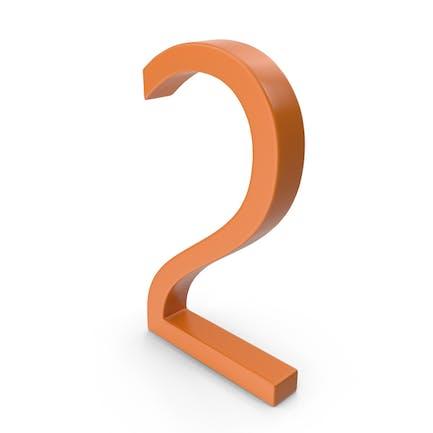 Number 2 Orange