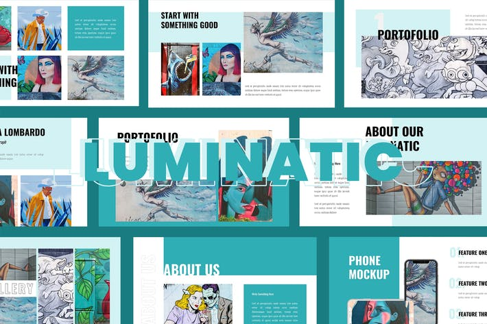Cover Image For Luminatic -  Google slide Presentation