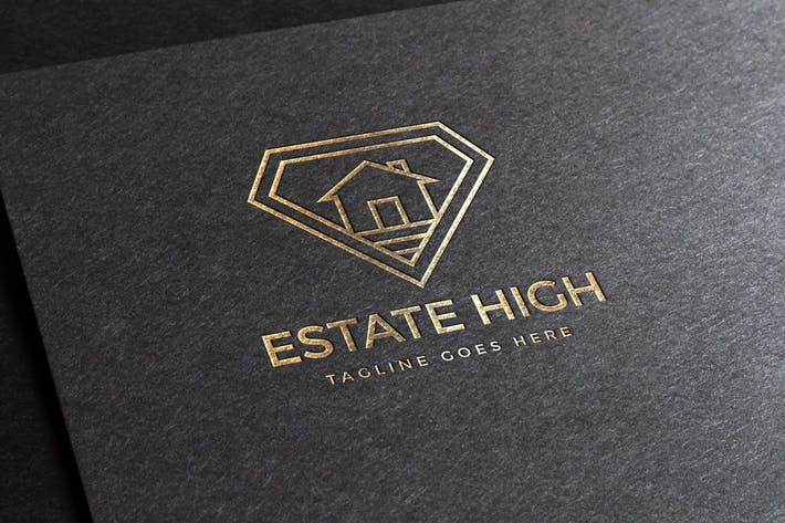 Thumbnail for Estate High Logo Template