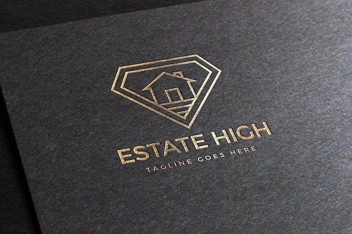 "Thumbnail for Vorlage ""Estate High Logo"""