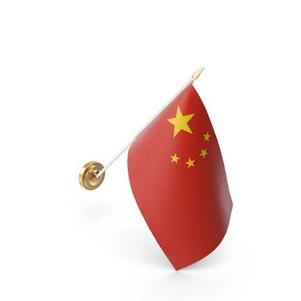 Mauer-Flagge China