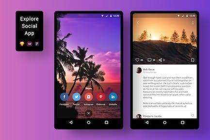 Explore Social App