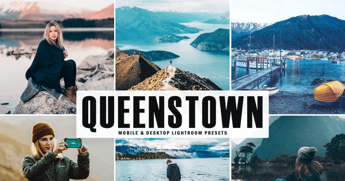 Download Queenstown Mobile & Desktop Lightroom Presets by creativetacos