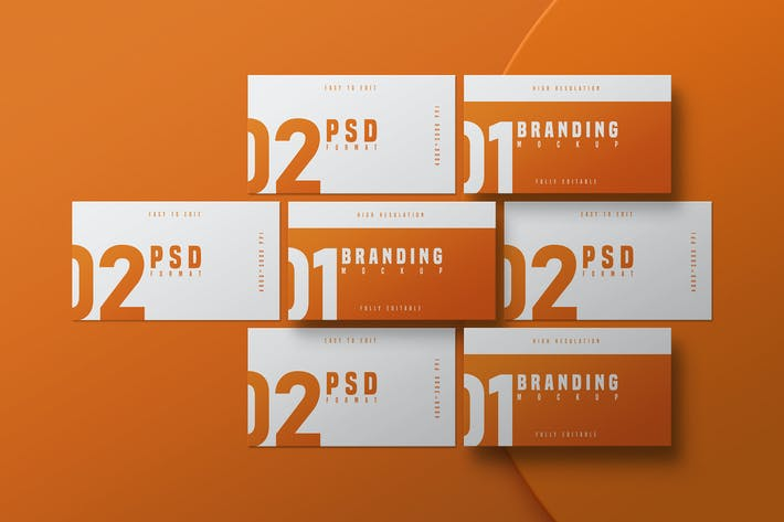 Thumbnail for Business Card Mockup - Vol 03
