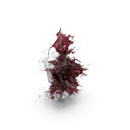 Shattered Glass with Wine