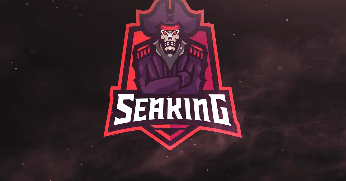 Seaking Sport and Esport Logos by ovozdigital