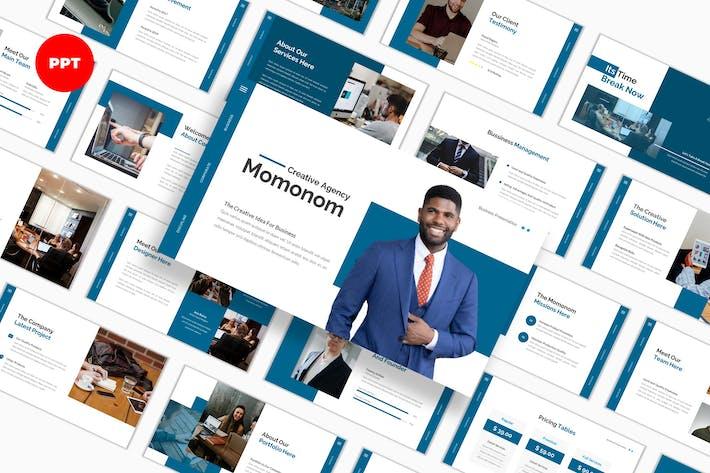 Thumbnail for Momonom Business PowerPoint