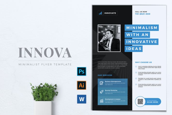 Thumbnail for INNOVATIONS Multipurpose Corporate Flyer