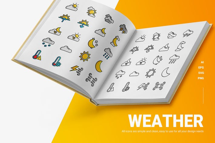 Wetter - Icons