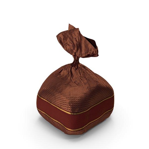 Eingewickelte ausgefallene Schokolade Bon