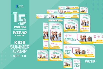 Web Ad Banner-Kids Summer Camp 10