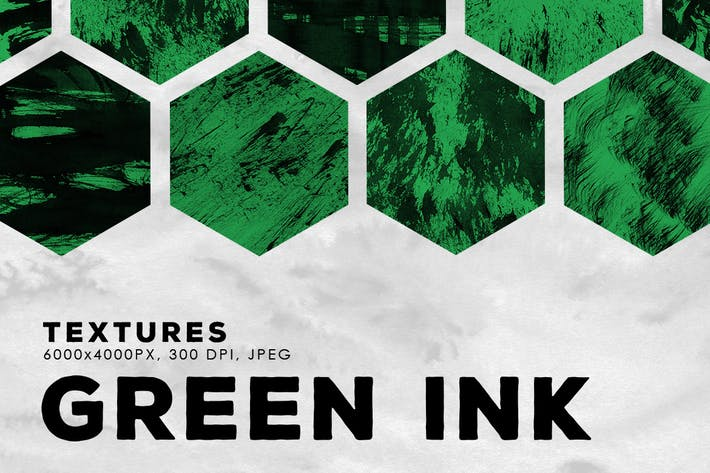 Thumbnail for Green Abstract Ink Textures