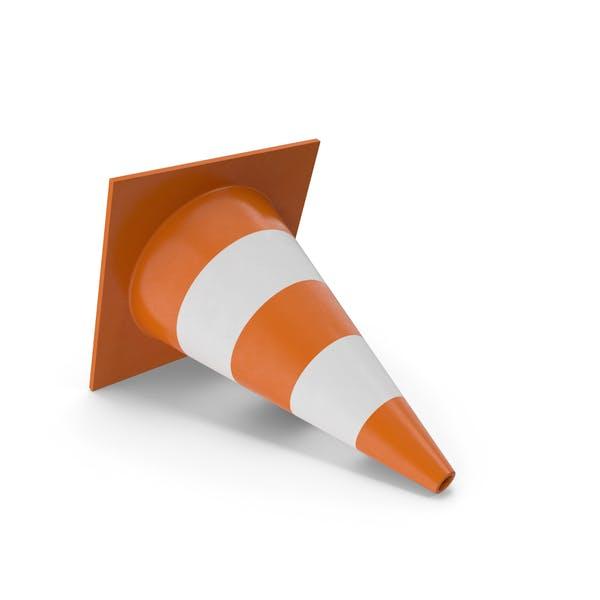 Lying Traffic Cone