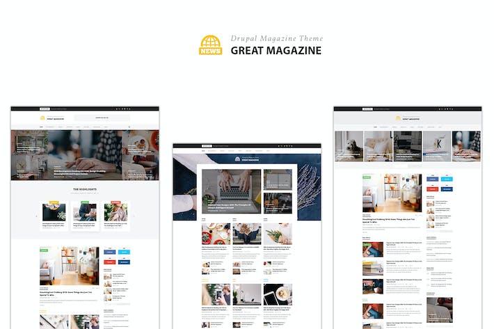drupal themes responsive magazine
