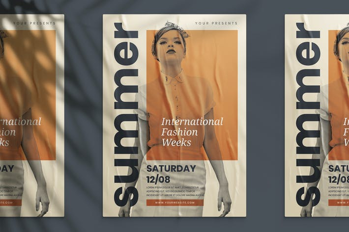 Thumbnail for International Fashion Weeks Flyer
