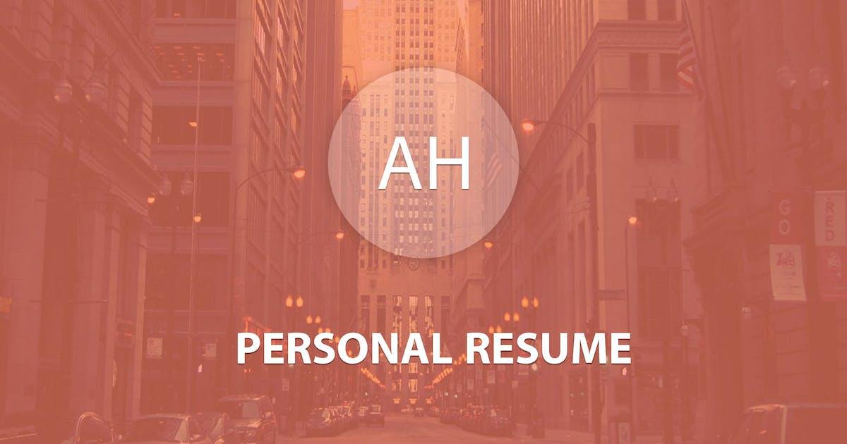 Download AH Personal - Creative Resume & Blog Theme by Tatwerat-Team