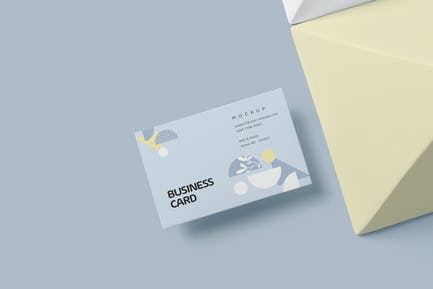 Europe Size Business Card Mockups