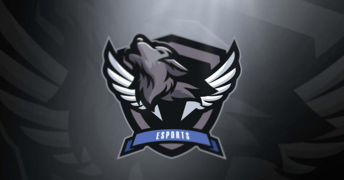 Download Wolfman Sports and Esports logo by ovozdigital