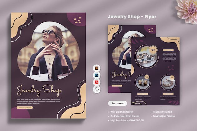 Jewellery Shop Flyer