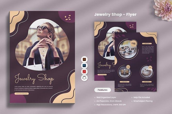 Jewellery Shop Flyer