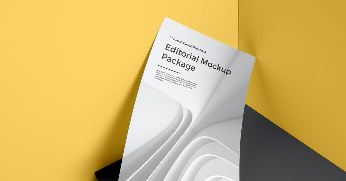 Download Poster / A4 Letterhead Mockup Vol. 3 by Genetic96