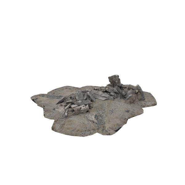 Felsen und Felsbrocken