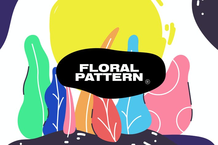 Thumbnail for Colorful Floral Pattern