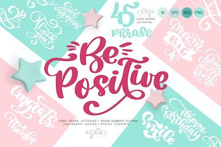 Citas de saludo Positivo y florecer